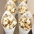 Peter Rabbit Birthday Party - custom popcorn cones & stand